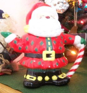 My only teapot Santa.