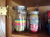 Mason Jar Cupcake Liners