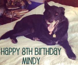 Happy 8th Birthday Mindy