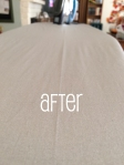 After Ironing Board Cover