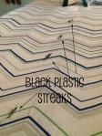 Black Plastic Streaks