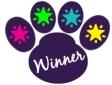 WWMD Dog Paw Winner