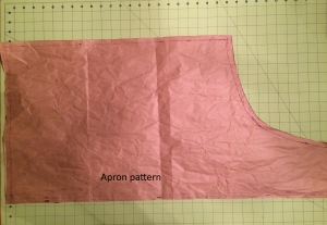 Apron pattern finished
