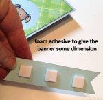 foam adhesive banner dimension