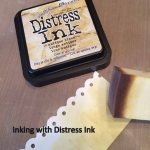 Inking with Distress Ink