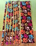 Scrap Fleece Strips
