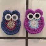Day 1 Crochet Owls Before Beaks