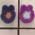 Day 1 Crochet Owls Before Eyes and Beaks