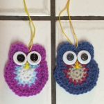 Day 1 Crochet Owls Douglas and Olivia