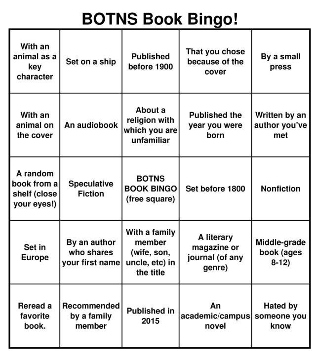 BOTNS Book Bingo [Random!]